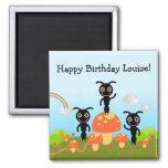 Happy Birthday says the ants