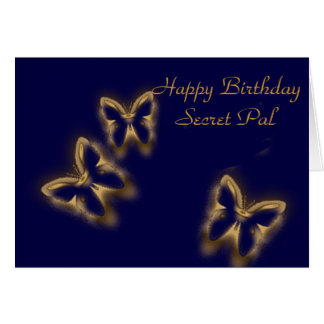 Happy Birthday, Secret Pal Card