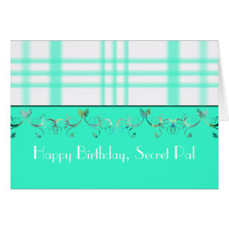 Happy Birthday Secret Pal Card