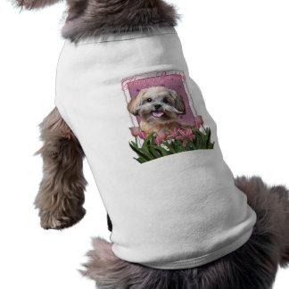 Happy Birthday - ShihPoo - Maggie Sleeveless Dog Shirt