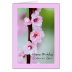 Happy Birthday sister in law Card