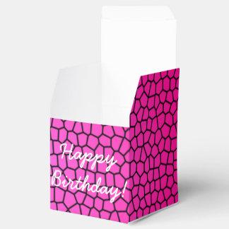 Happy Birthday Snake Print Design Favour Box