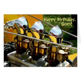 """Happy Birthday, Son"" Card"