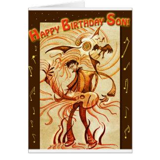 Happy Birthday Son! Note Card