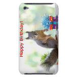 Happy Birthday Squirrel iPod Touch Case-Mate Case