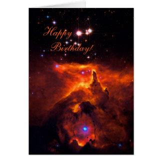 Happy Birthday - Star Cluster Pismis 24 Card