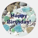 Happy Birthday! stickers envelope seals Invitation