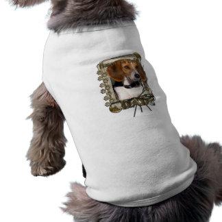 Happy Birthday - Stone Paws - Beagle - Dad Sleeveless Dog Shirt