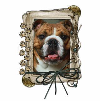 Happy Birthday - Stone Paws - Bulldog Photo Cut Outs
