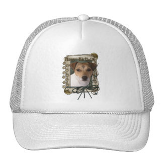 Happy Birthday - Stone Paws - Jack Russell Trucker Hat