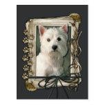 Happy Birthday - Stone Paws -West Highland Terrier