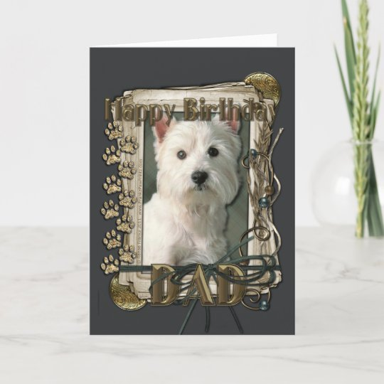 Westie Mum Birthday Card Westi Higland Terrier Zazzle