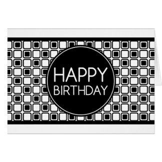 happy birthday (studioSquares) Card