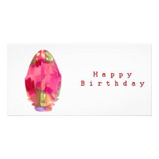 Happy Birthday Sun Energy Chakra Personalized Photo Card