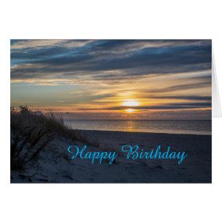Happy Birthday Sunrise Card