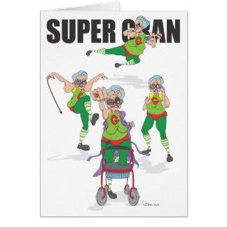Happy Birthday Super Gran Cards