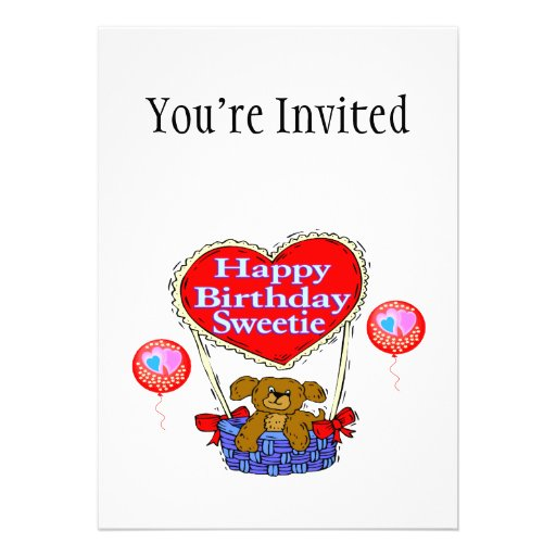 Happy Birthday Sweetie Puppy Cards