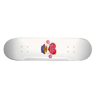 Happy Birthday Sweetie Puppy Skate Board