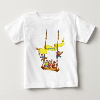 Happy Birthday Swing Baby Customizable T-shirt