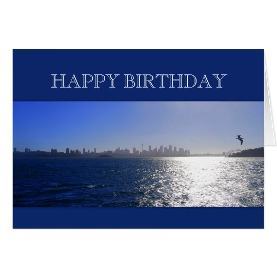 Happy Birthday, Sydney, Australia, Harbour Card
