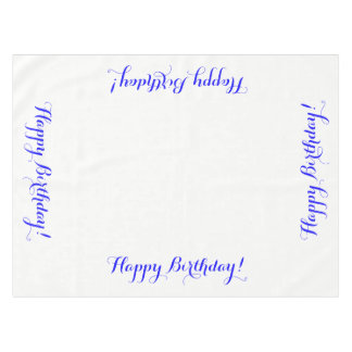 Happy Birthday Tablecloth