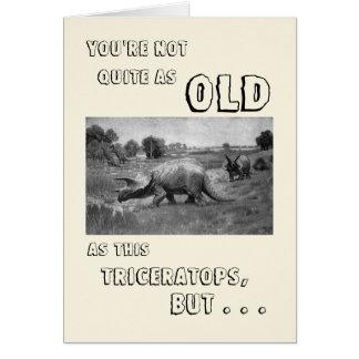 Happy Birthday to a Dinosaur Card
