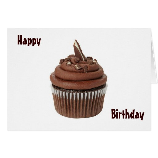 HAPPY BIRTHDAY TO A SWEETIE - CUPCAKE STYLE! GREETING CARD