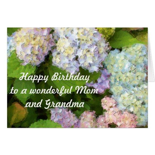 Happy Birthday to a Wonderful Mum and Grandma