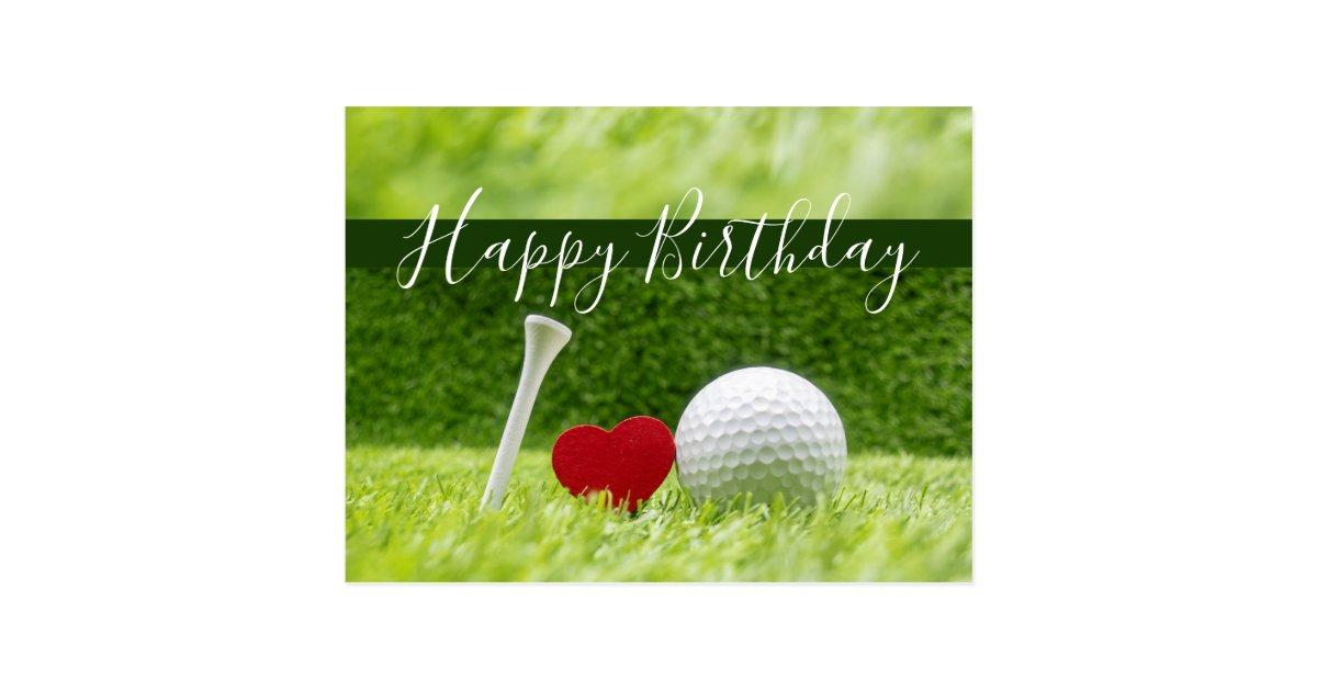 Добрым утром, гольф открытка