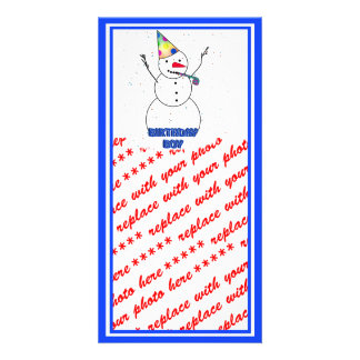Happy Birthday To Him! Picture Card