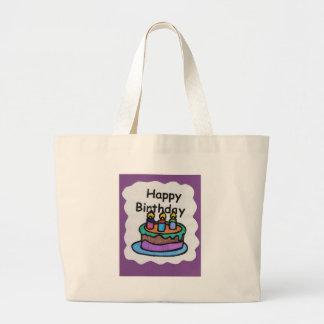 Happy birthday to me art tote bag