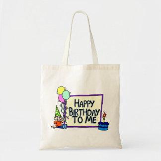 Happy Birthday To Me Boy Budget Tote Bag
