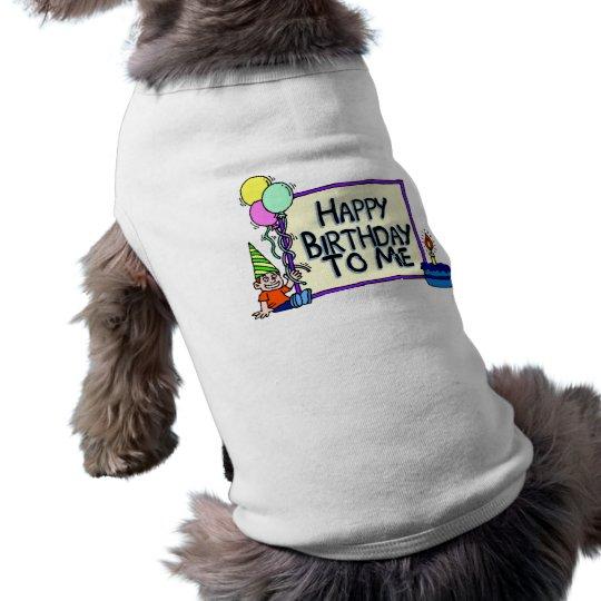 Happy Birthday To Me Boy Shirt