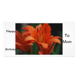 Happy Birthday to Mom Picture Card