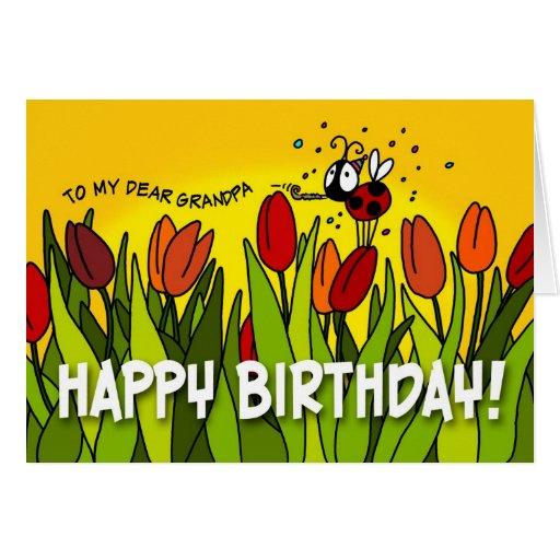 Happy Birthday - To My Dear Grandpa Card