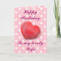 happy birthday to my love wife gifts gift ideas zazzle uk