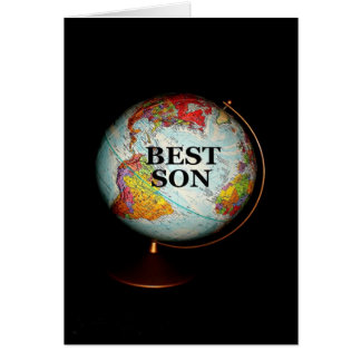 Happy Birthday To The Best Son On Earth! Greeting Card