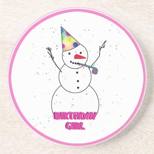 Happy Birthday to the Birthday Girl! Coasters