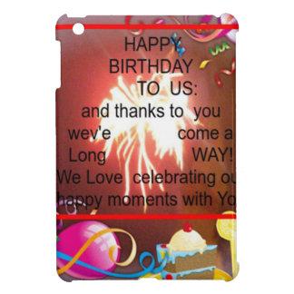 Happy Birthday To us iPad Mini Covers