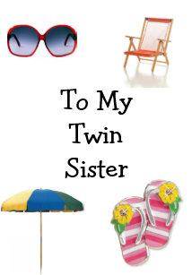Twin Sis Birthday Gifts Gift Ideas Zazzle Uk