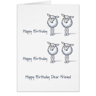 Happy Birthday TWO EWE Cards