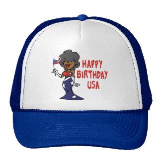 Happy Birthday USA Cap