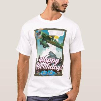 Happy Birthday vintage plane! T-Shirt