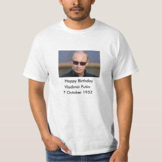 Happy Birthday Vladimir Putin 7 October 1952 T-Shirt