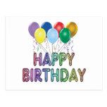 Happy Birthday with Balloon