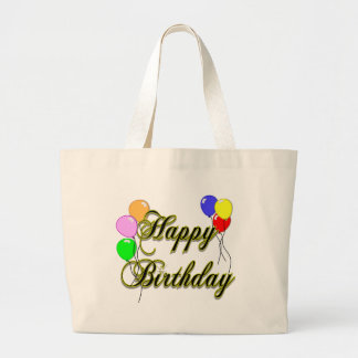 Happy Birthday with Balloons 2 Tote Bag