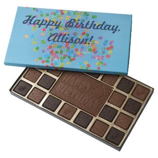 Happy Birthday with Balloons Chocolates