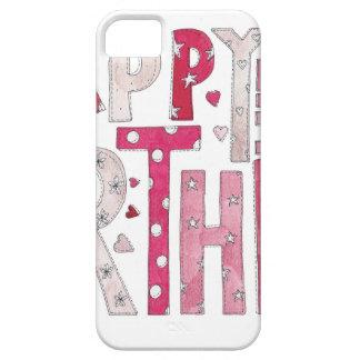 Happy Birthday With Love iPhone 5 Case