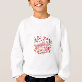 Happy Birthday With Love Sweatshirt