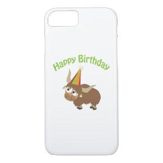 Happy Birthday Yak iPhone 7 Case